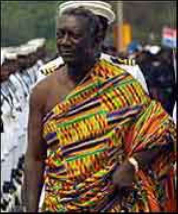 Kufuor Returns Home From Italy